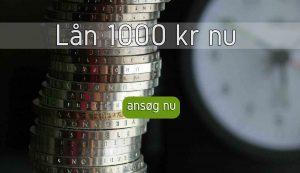Lån 1000 kr nu