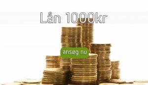 Lån 1000kr