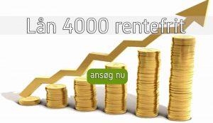 Lån 4000 rentefrit