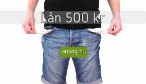 Lån 500 kr