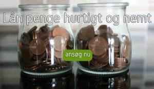 Lån penge hurtigt og nemt